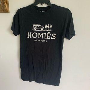 3/$15! The Reason brand Homies NY shirt